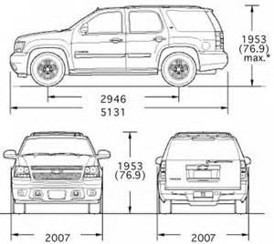 Alfa img - Showing > Chevrolet Tahoe Interior Dimensions
