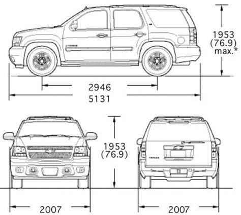 Height Of Chevy Tahoe by Interior Dimensions Chevy Tahoe Billingsblessingbags Org