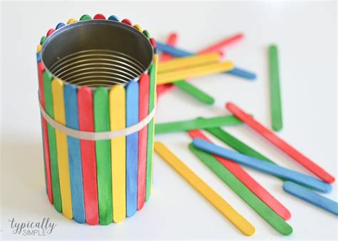 craft stick flower pots home  gifts diy mothers