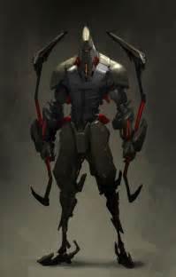 Futuristic Assassin Ninja Concept Art