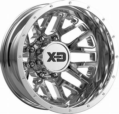 Xd843 Dually Wheels 3500 Chrome Dodge Grenade