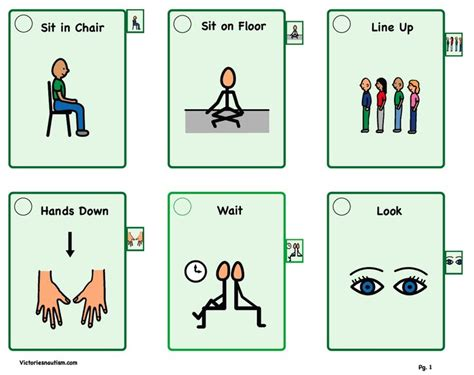 desk chair mat for carpet best 25 visual cue ideas on picture cards