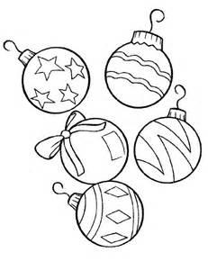 printable christmas ornaments for kids coloring home