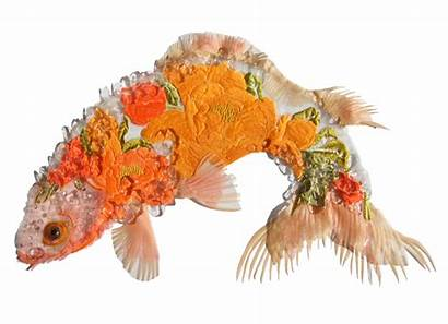 Karen Nicol Textiles Textile Fish Nicole Animals