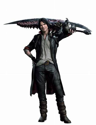 Dante Cry Devil Render Dmc Nero Alt