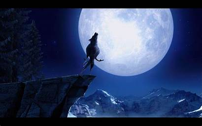 Howling Wolf Moon Werewolf Wallpapers Ultimate Desktop