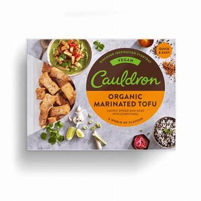 Tofu Marinated Pieces Cauldron Organic Foods
