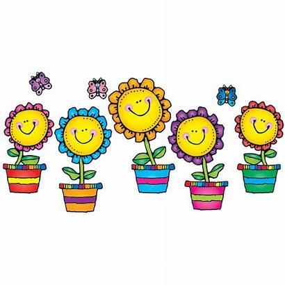 Flowers Blooming Bulletin Board Classroom Theme Dj
