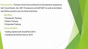 Sharepoint Administration Training In Bangalore