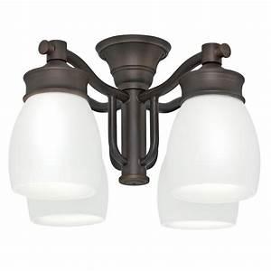 Casablanca light brushed cocoa bronze ceiling fan