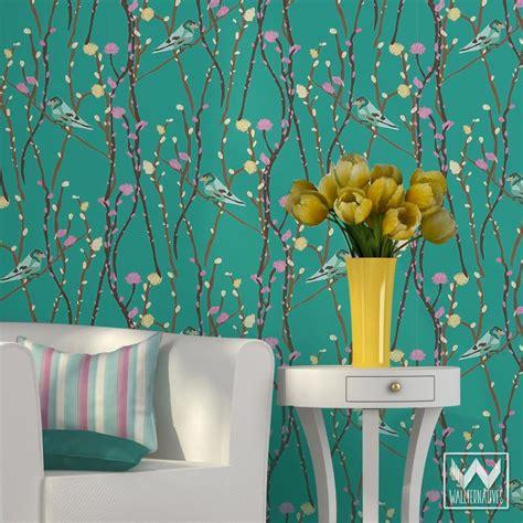 animal bird butterfly removable wallpaper wallternatives