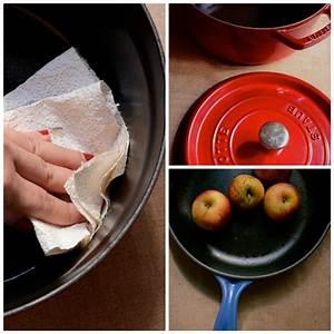 Nettoyer Fonte Rouillée : comment nettoyer une cocotte en fonte les mains la p te les mains la p te ~ Farleysfitness.com Idées de Décoration