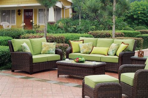 outdoor wicker furniture cottage home