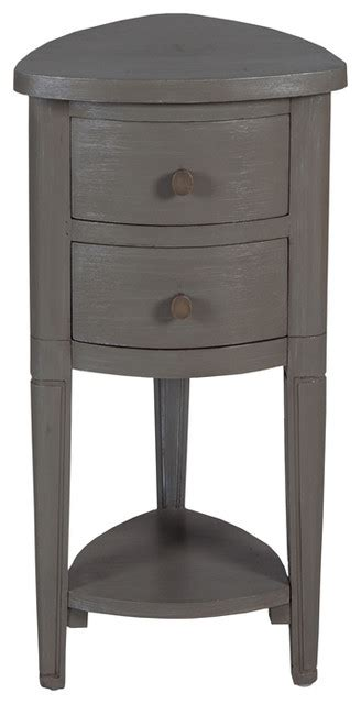 Shop Houzz  Guild Master Grey Corner Accent Table With. Golf Desk Accessories. Drawer Pulls 3 Inch. Desk Exercises Abs. Granite Top Kitchen Table. Baby Cribs With Storage Drawers. Portable Desks On Wheels. Kids Desks Target. Double Sink Vanity With Makeup Table