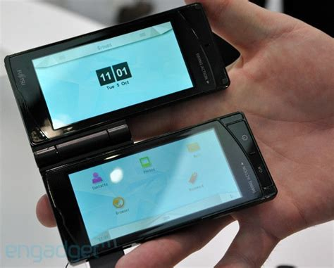 dual screen smartphone fujitsu dual screen smartphone opens up world of possibilities