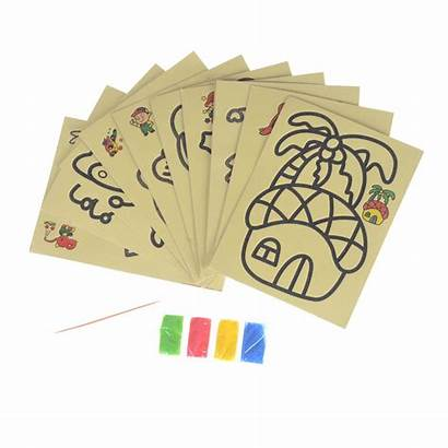 Sand Drawing Toys Paper Draw Toy Board