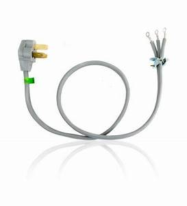 Electrical Range Power Cord 4 U0026 39  3 Wire 40 Amp 240 Volt By