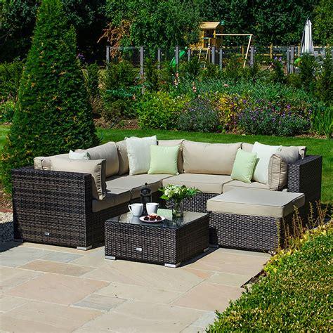 Garden Loveseats Sale by Chelsea Rattan 6 Seater Corner Garden Sofa Set At
