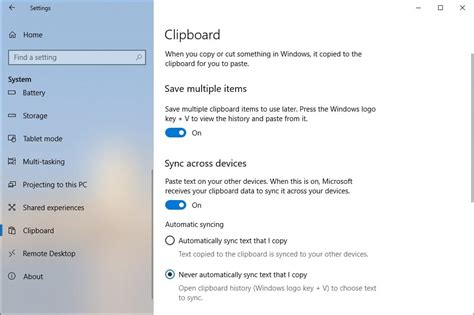 how to use windows 10 clipboard history technastic