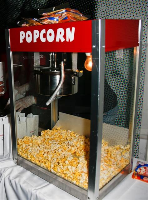 popcorn machine hire rental johannesburg