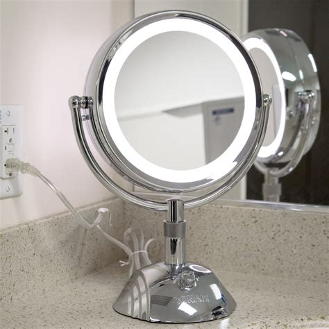 light up mirror with conair be6sw telescopic makeup mirror with light house