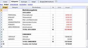Budget Rechnung : finanzplanung banana accounting software ~ Themetempest.com Abrechnung