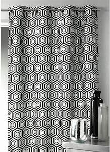 Rideau Forme Geometrique : rideaux a motifs tous les produits et articles de d coration sur elle maison ~ Melissatoandfro.com Idées de Décoration