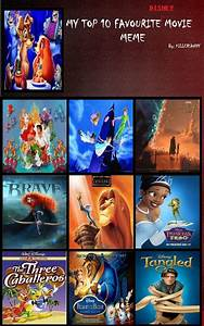Top 10 Disney Films By Firexblood41553 On Deviantart