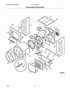 Electrolux Ffle1011mw0 Laundry Center With Electric Dryer