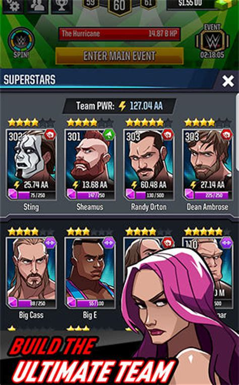 wwe jeux android