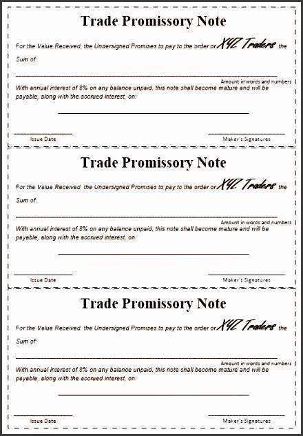promissory note templates sampletemplatess