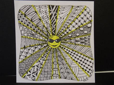 Zentangle Christmas Patterns | Trish's Artistic Adventures ...