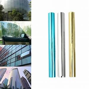 Film Anti Uv : mirror reflective one way solar window film foil ~ Dode.kayakingforconservation.com Idées de Décoration