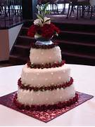 Heart Shaped Wedding Cakes Pictures by Heart Shaped Wedding Cake Red Velvet Cakes Pinterest