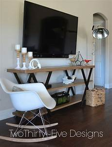 Table Tv But : diy wall mounted television hidden cords two thirty five designs ~ Teatrodelosmanantiales.com Idées de Décoration