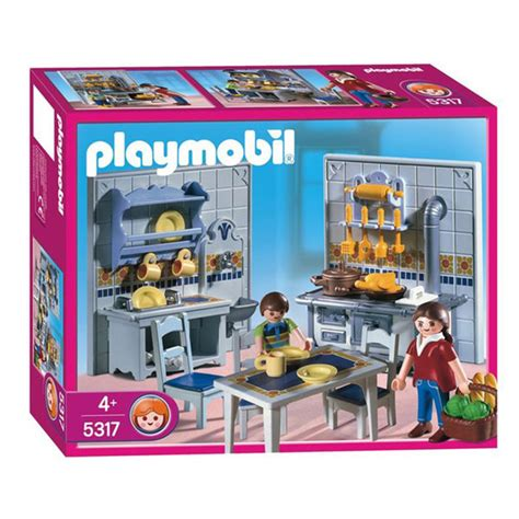 cuisine playmobile 5317 cuisine 1900 playmobil play original