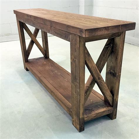 farmhouse style console table wooden farmhouse inspired console table molly 39 s marketplace