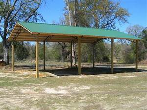 Pole Barns Steel Trusses And Pole Barn Homes On Pinterest