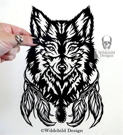 cut out templates wolf 299 best wildchild designs paper cutting illustration