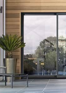 Baie Vitree Coulissante : baie vitr e sur mesure baie vitr e alu baie ~ Dallasstarsshop.com Idées de Décoration
