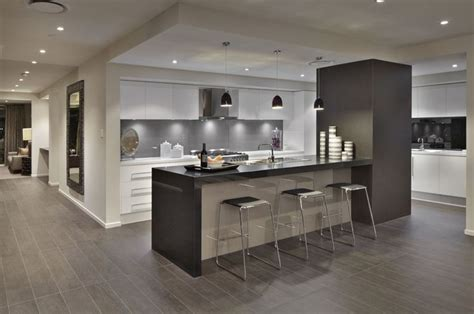 colors of kitchen cabinets caesarstone jet black kitchen by rawson homes http www 5587