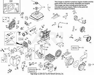 Ariens 08200919  60w Parts Diagram For Engine 08200919