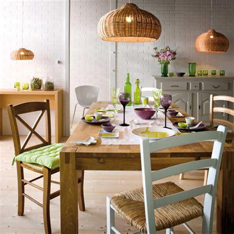 modele de lustre pour cuisine choisir sa table de salle à manger astuces déco