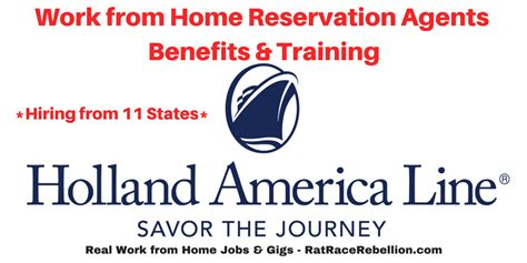work from home sales holland america line archives real work from home jobs by rat race rebellion