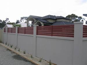 Front Wall Fence Designs Gallery With Boundary Walls In