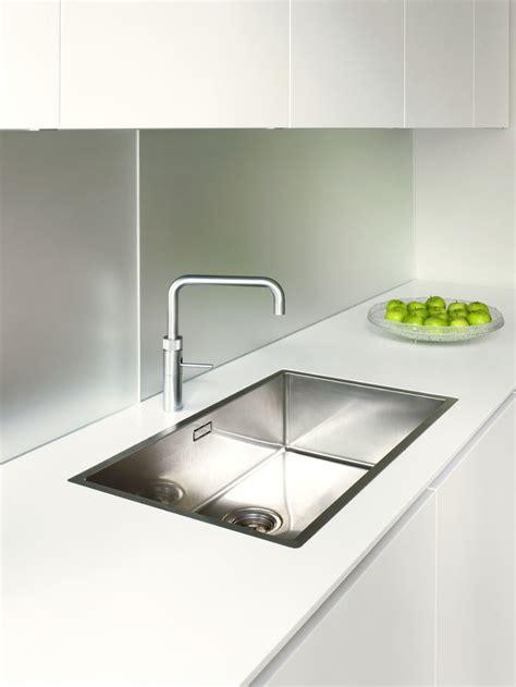 sink kitchen systemat range polar white lacquer matt cabinetry