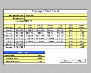 Payroll Calculations In Excel Free Free 16 Timesheet Calculator Templates In Pdf Ms Word