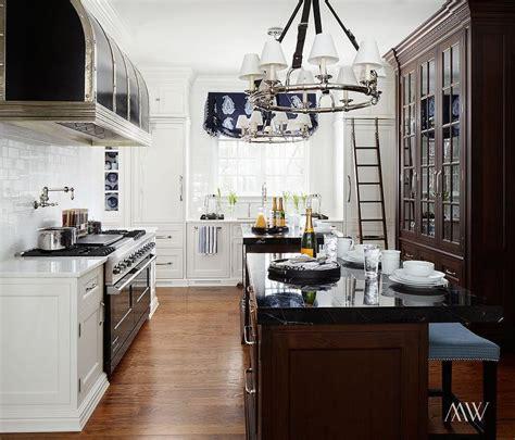ralph lauren westbury chandelier transitional kitchen