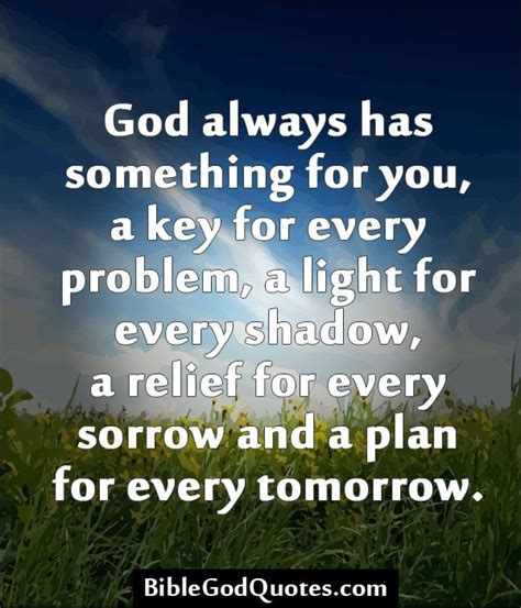God Always Has A Plan Quotes