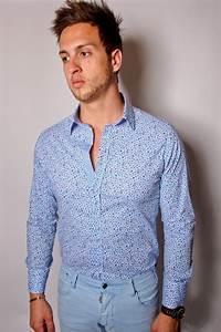 Chemise Homme Motif Original : chemise homme slim fit motif fleur sorbino bellam ~ Nature-et-papiers.com Idées de Décoration
